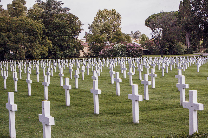 Cimitero monumentale americano di Nettuno di albertocastagnaphoto