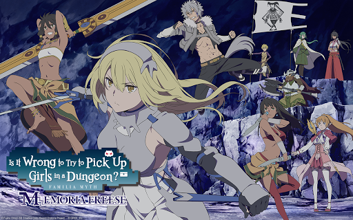 DanMachi - MEMORIA FREESE 4.1.0 gameplay | by HackJr.Pw 7