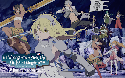 DanMachi - MEMORIA FREESE APK screenshot thumbnail 1