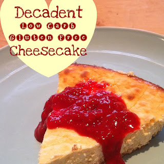 Low-Carb and Gluten Free Cheesecake