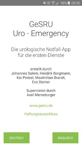 GeSRU Uro Emergency