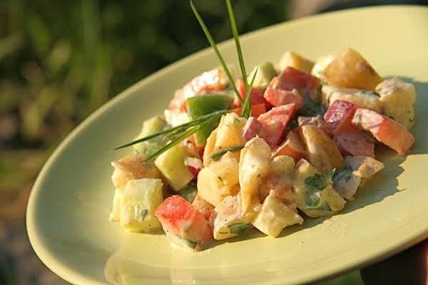 How To Make Spicy Potato Salad Recipe