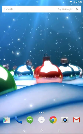 無料个人化Appのクリスマスおもちゃの3Dライブ壁紙 記事Game