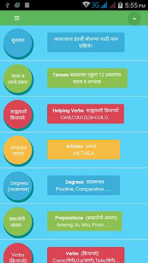 Speak English Marathi