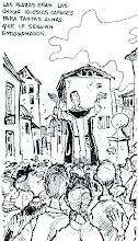 """Photo: Nos envía José Angel Liaño: """"muestra de otro libro, también del año 1966. En mi opinión, es el dibujo genuino, inicial, que nos cautivó a todos""""."""