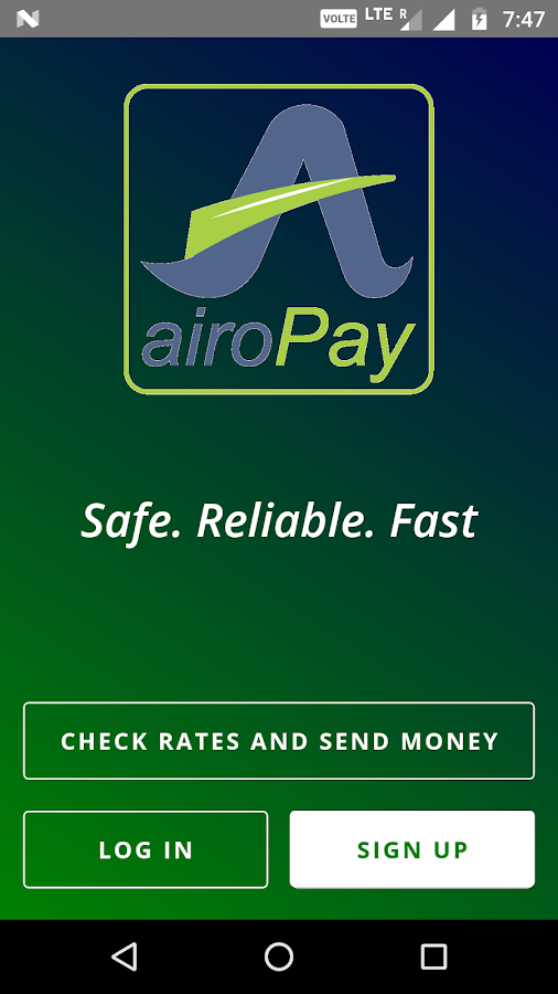 Airopay- screenshot
