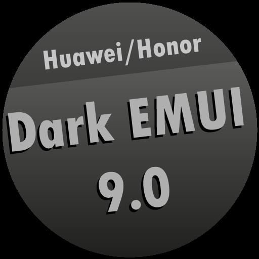 Dark EMUI 9 Theme for HuaweiHonor