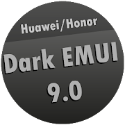 Dark EMUI 9 / 9.1 Theme for Huawei/Honor