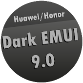 Dark EMUI 9 Theme for Huawei/Honor Icon