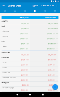 Bluecoins- Finance And Budget Screenshot