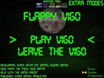 Flappy Vigo - náhled
