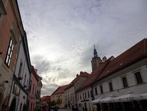 Photo: The sky in Varaždin