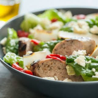 Grilled Sausage and Pepper Salad.