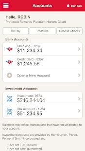 Bank of America Screenshot 2