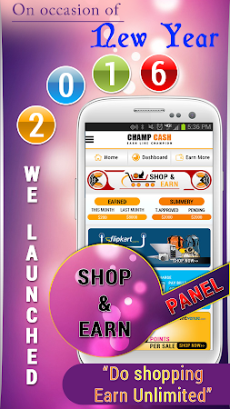 Champcash Earn Money Free 2.2.6 screenshot 278319
