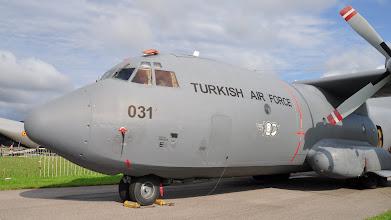 Photo: Turecki transportowiec C-160 Transall