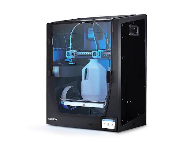 BCN3D Epsilon W50 Fully Enclosed Large Format Independent Dual Extrusion 3D Printer