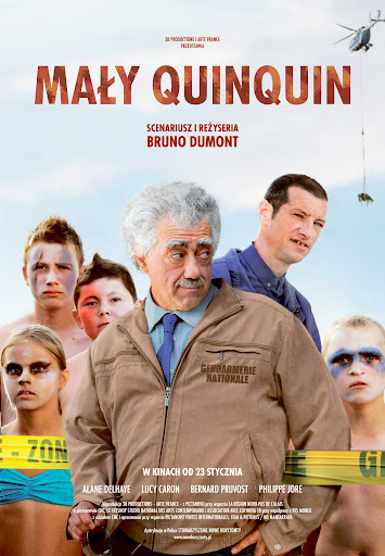 Polski plakat filmu 'Mały Quinquin'