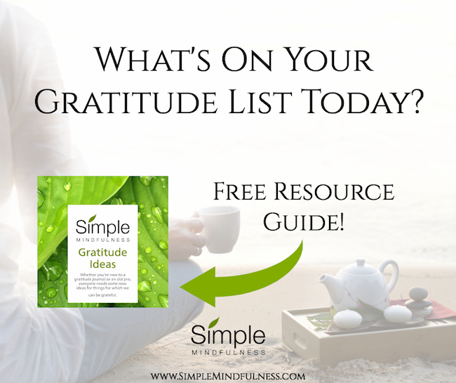 Get your free list of 40 gratitude prompts!
