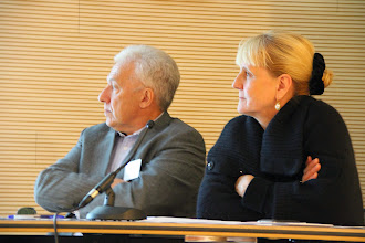 Photo: Roundtable – Discussions. Moderated by Vladimir Aslanov and Marie-Christine Desjean