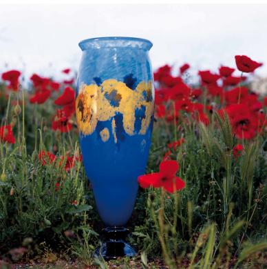 Charles Schneider, Vase capucines, vers 1928-1930