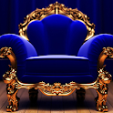 King Armchair Live Wallpaper icon