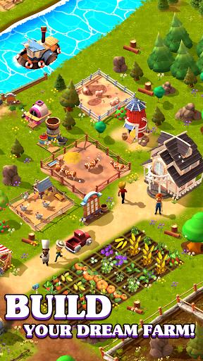 Happy Town Farm: Farming Game apkmr screenshots 2