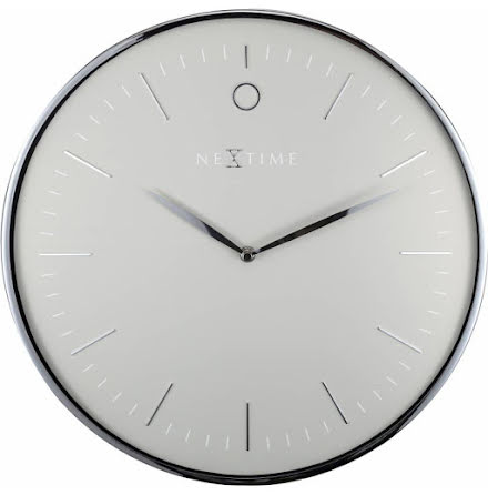 Glamour Väggklocka ø40cm grå/silver