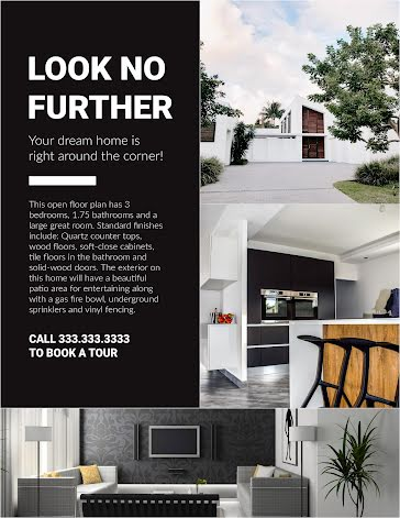 Dream Home - Flyer Template