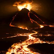Mountain Volcano LWP