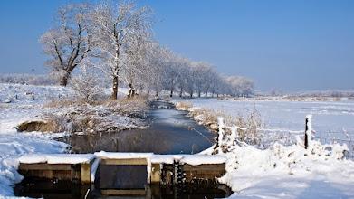 Photo: Landschappen Sneeuwlandschap. Foto: Henk van Schie.