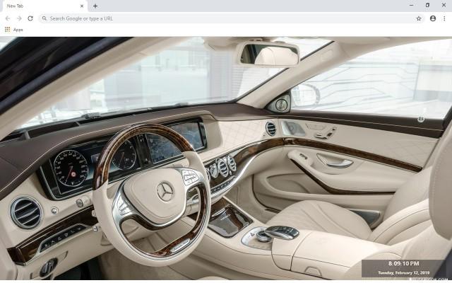 Mercedes-Benz Maybach Exelero New Tab Theme
