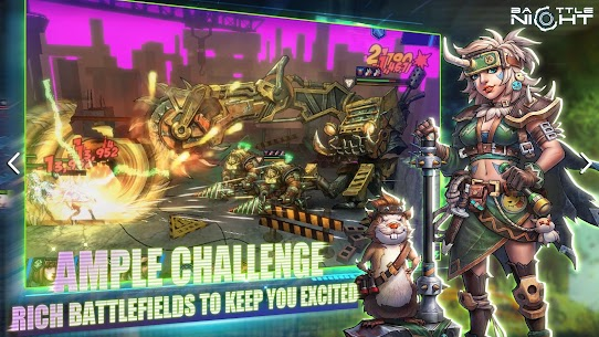 Battle Night: Cyber Squad MOD (One Hit/God Mode) 5