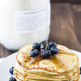 Homemade Healthy Pancake Mix.