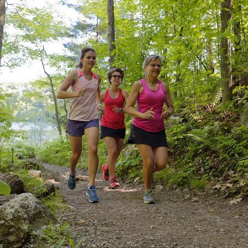 Trail Run in Gatineau Park