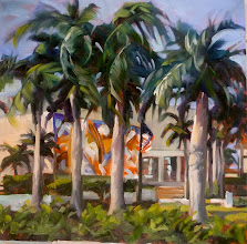 Photo: Painting by Elfrida Schrager Delray 12-19-13