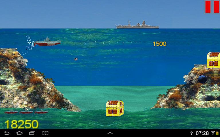 android Submarine Jack II Screenshot 6