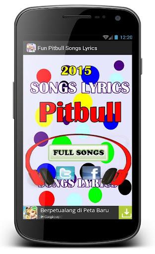 Top Fun Pitbull Songs