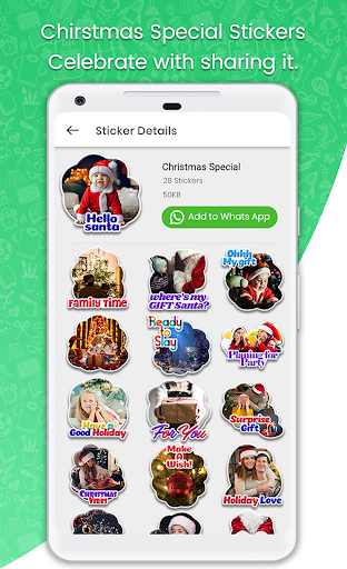 Stickers For WhatsApp - STICKER MAKER 71 screenshots 1