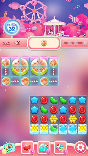 Crush the Candy: #1 Free Candy Puzzle Match 3 Game 1.0.5 screenshots 3