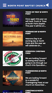 North Point Baptist Church- screenshot thumbnail