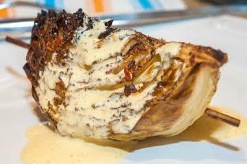 Veggie Essentials: Bacon Baked Cabbage Wedges