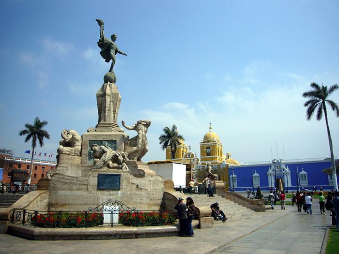 Trujillo Conoce su Plaza de Armas