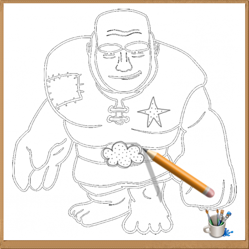 How to Drawing Clash of Clans