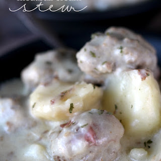 Meatball Cream Stew