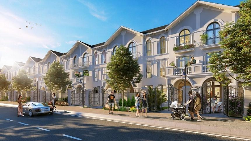 Xây dựng nhà liền kề giúp tiết kiệm đáng kể diện tích