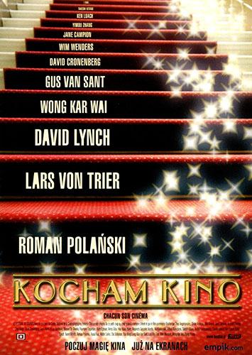 Przód ulotki filmu 'Kocham Kino'