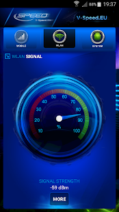 V-SPEED Speed Test Screenshot