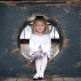Princess Charlotte at the Playground by Richard Saxon - Babies & Children Child Portraits ( fashion, april, 2015, children, charlotte )