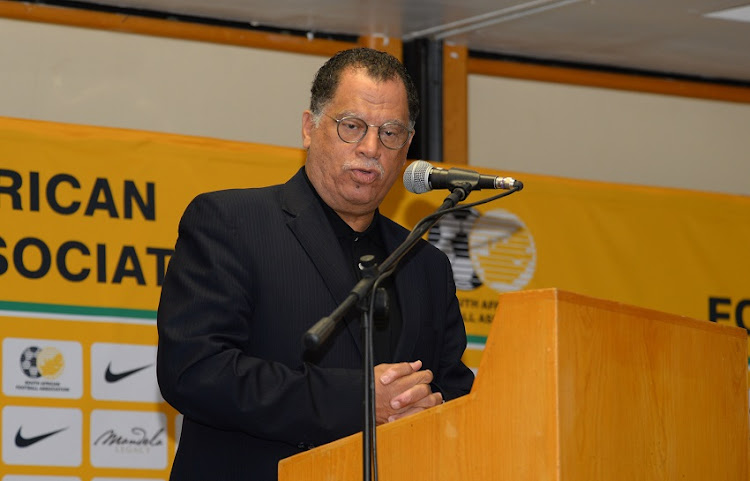 Danny Jordaan (President of the South African Football Association) during the Minister of Sport hosting a Special Breakfast with Banyana Banyana at Garden Court Nelson Mandela Boulevard on January 16, 2018 in Cape Town, South Africa.